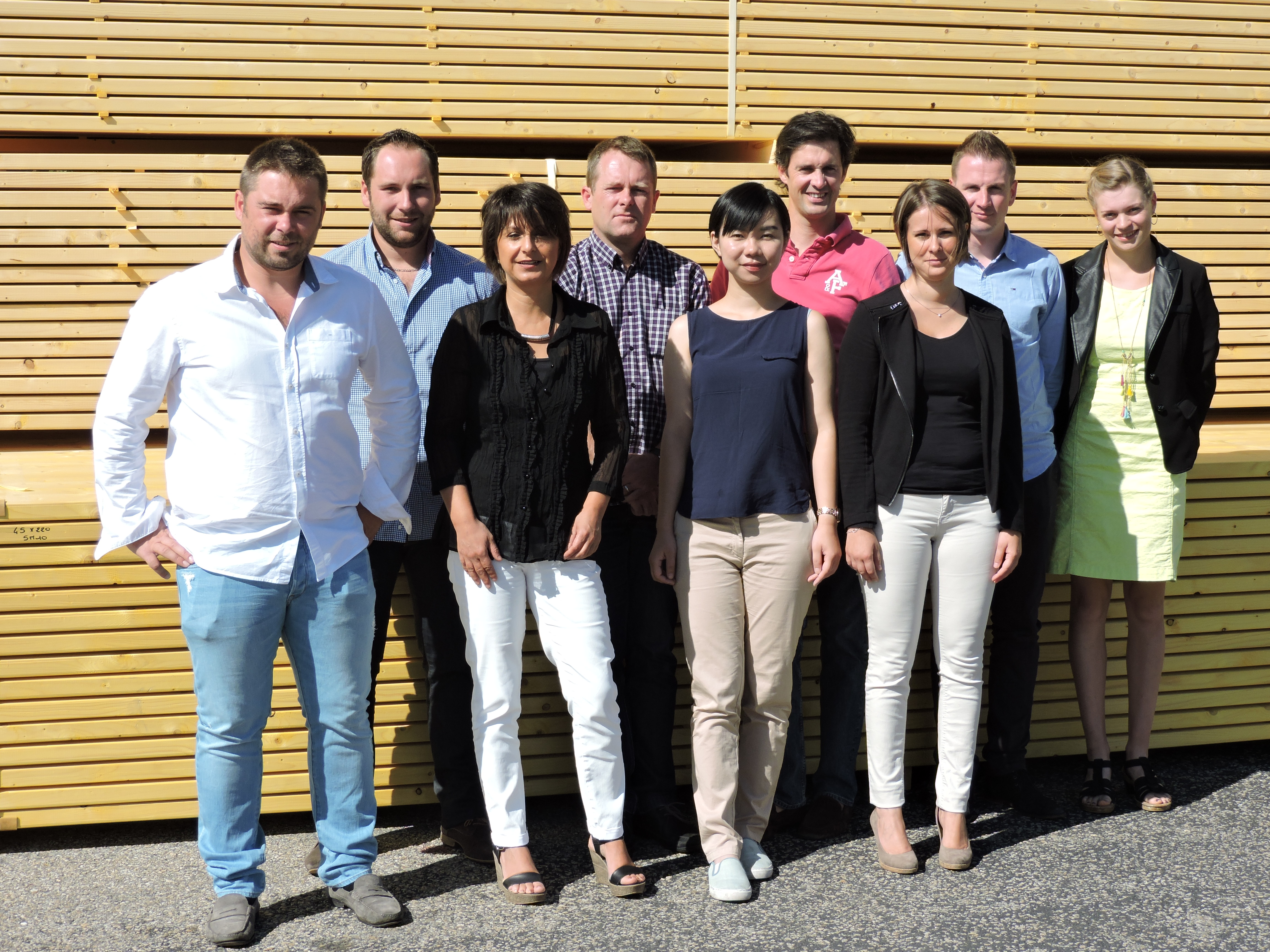 EQUIPE COMMERCIALE